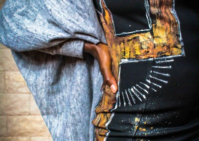 Textile 100% peint