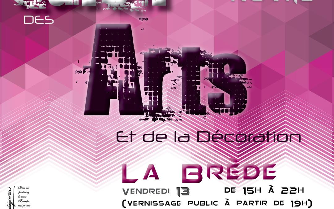 Salon des ARTS de la DECO à La Brède du 13 au 15 novembre 2015