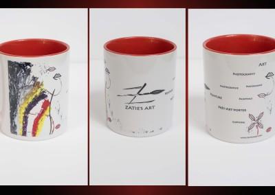 Zatie's Mug Kiss Rouge 14 €