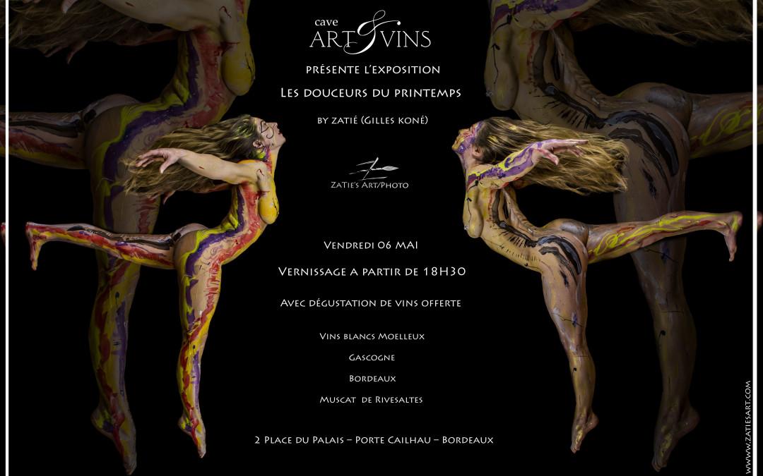 Exposition «Les douceurs du Printemps» à la cave Art & Vins