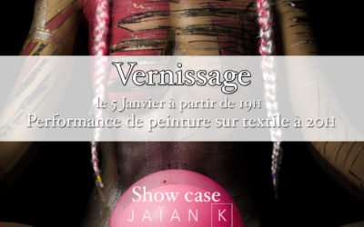 Exposition « Photographie d'art Body-painting » by Zatié pour la Maison rose