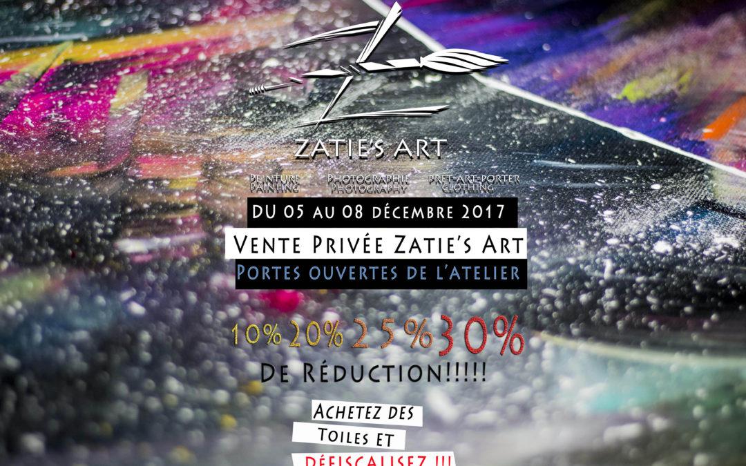 Vente privée Zatie's Art et portes ouvertes de mon atelier #4