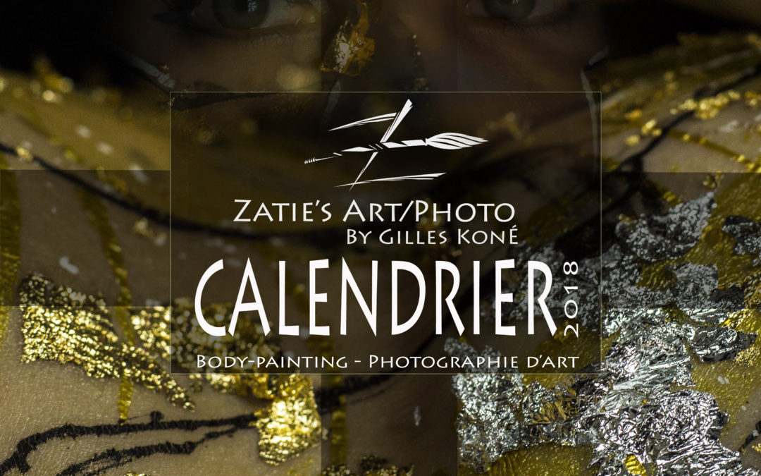 Calendrier 2017 by Zatie's Art (disponible pour Noël 2017)
